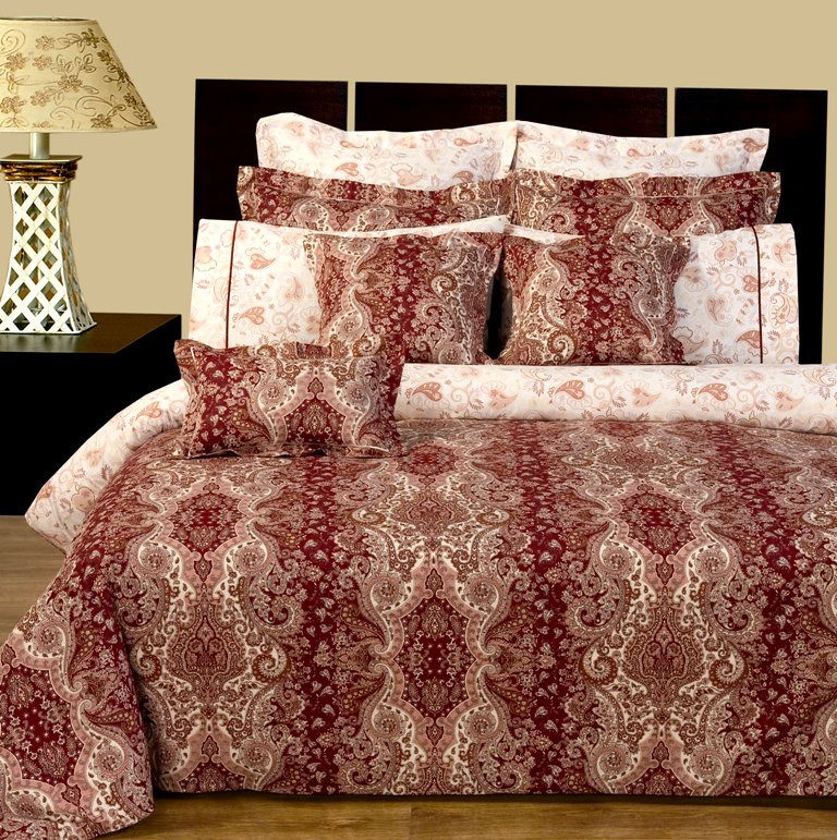 Hampton Paisley Cotton 11 Pc Bedding Sets Duvet Cover With