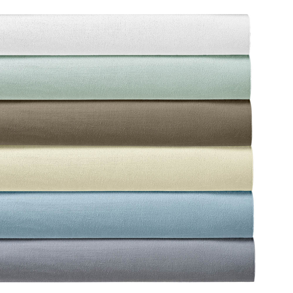 520139837958 170GSM Heavyweight Flannel Sheets Ultra Soft & Warm Cotton Flannel ...