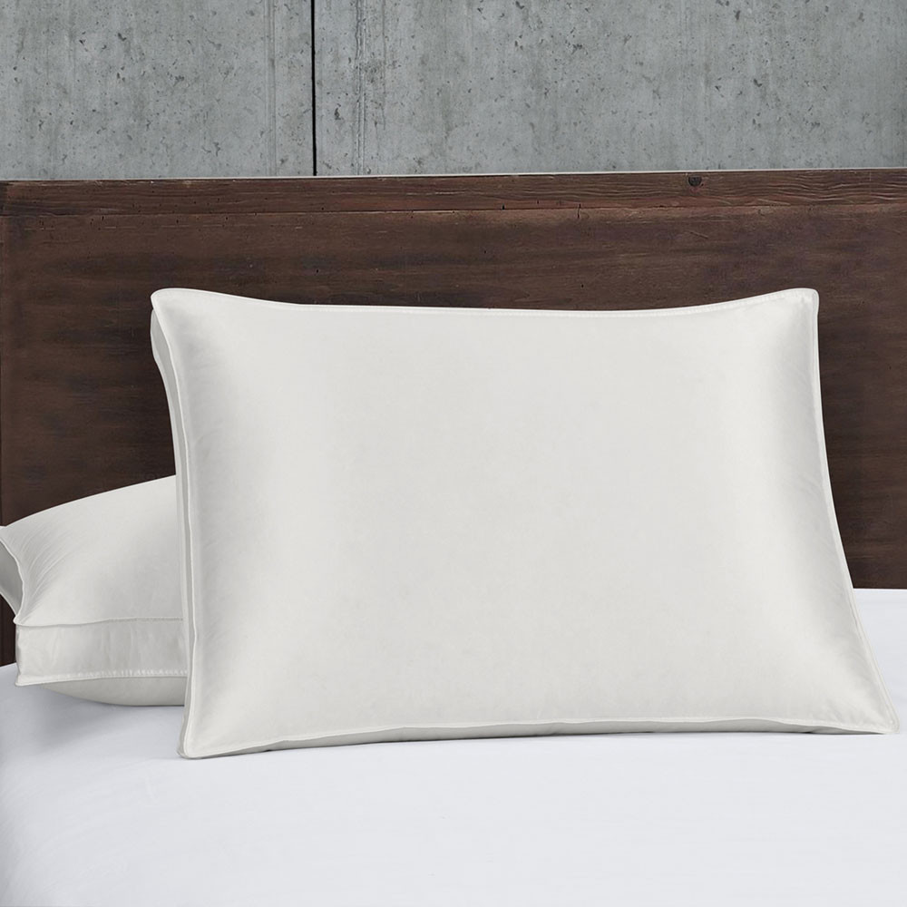 Silk Goose Down Pillows 700FP Firm Support