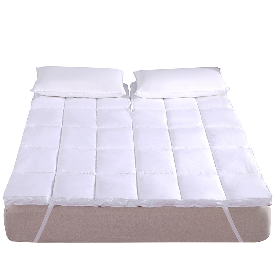 Abripedic Top Split King 2 Inch Thick Comfort Mattress