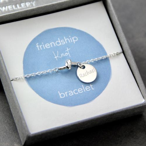 Sterling Silver Friendship Knot Bracelet