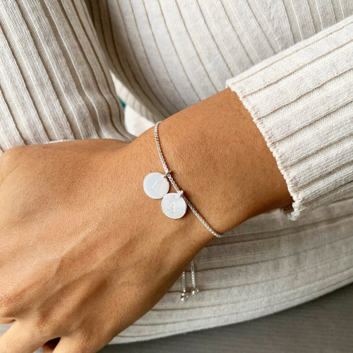 Sterling Silver Adjustable Sliding Bracelet