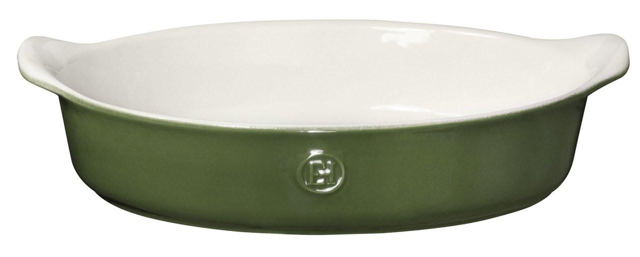 Green Emile Henry Made In France HR Modern Classics Salt Pig