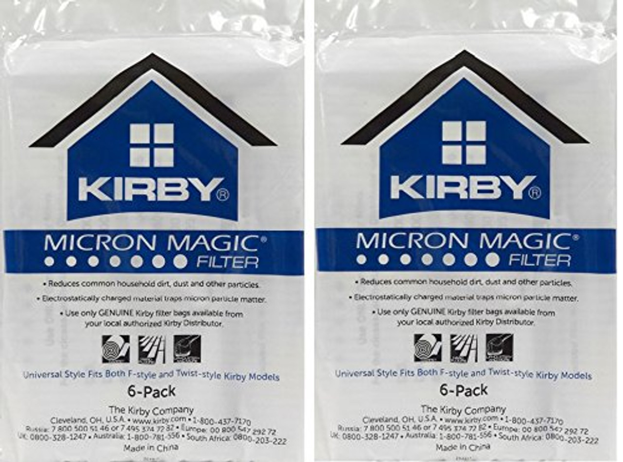 204811 6 Pack Kirby Allergen Reduction Filters