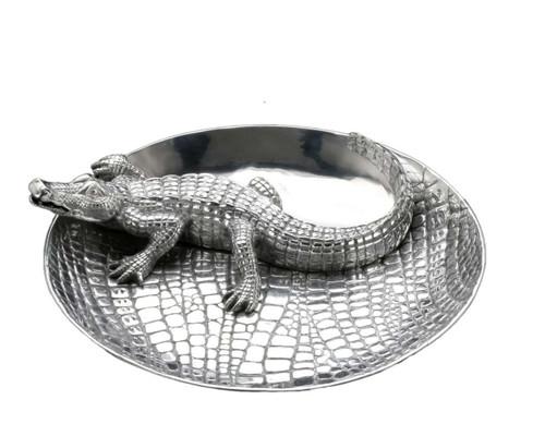Arthur Court Designs Alligator Chip & Dip