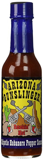 Arizona Gunslinger's Chipotle Habanero Pepper Sauce (1) 5 oz.