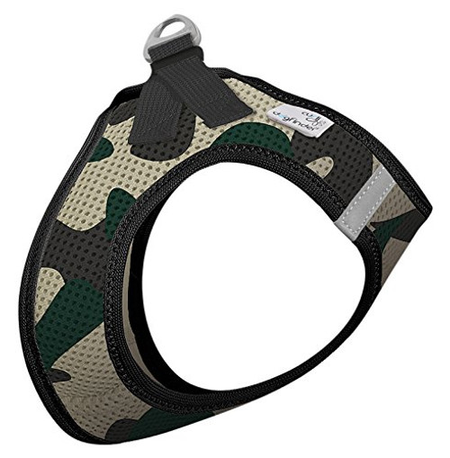 Curli Plush Vest Air Mesh Harness Camo X-Large