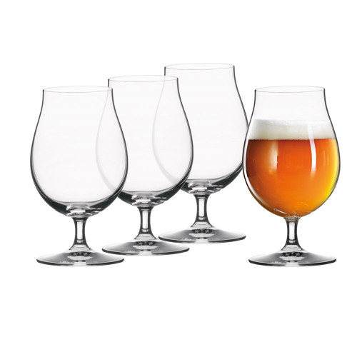 Spiegelau 4991974 Tulip Classics Beer (Set of 4), Clear