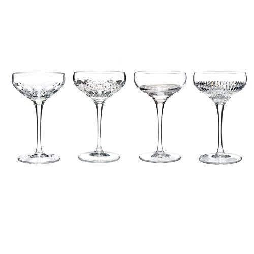 Coupes Goblet (Set of 4) Color: Clear