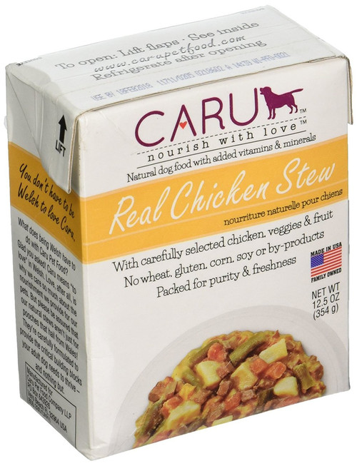 Caru Real Stews for Dogs 12.5oz (Chicken)