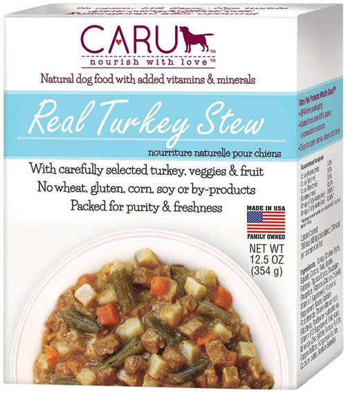 Caru Real Stews for Dogs 12.5oz (Turkey)