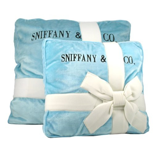 Sniffany& Company Novelty Gift Wrapped Pet Bed