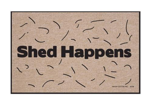 Shed Happens Funny Indoor/Outdoor Welcome Doormat