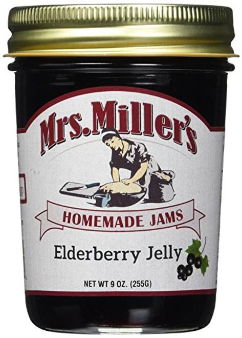 Elderberry Jelly: 3 jars Mrs Millers Homemade