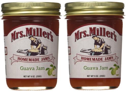 Mrs Millers Guava Jam (Amish Made) 2 / 9 Oz. Jars