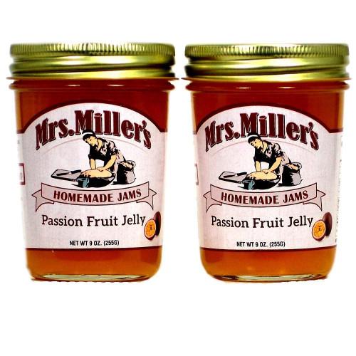 Passion Fruit Jelly (Amish Made) ~ 2 / 8 Oz. Jars