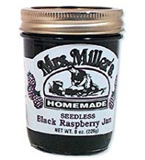 Mrs. Miller's Homemade Seedless Black Raspberry Jam