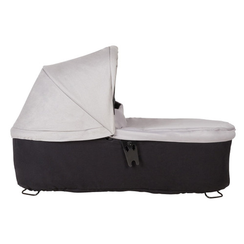 Mountain Buggy Carrycot+ for Duet, Silver