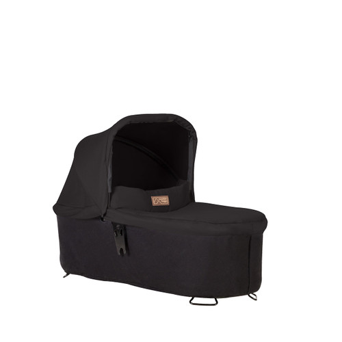 Mountain Buggy Carrycot Plus with 3 Seat Modes for 2015 Swift and Mb Mini, Black