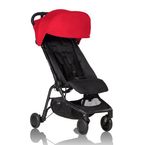 Mountain Buggy 2016 Nano Stroller, Ruby