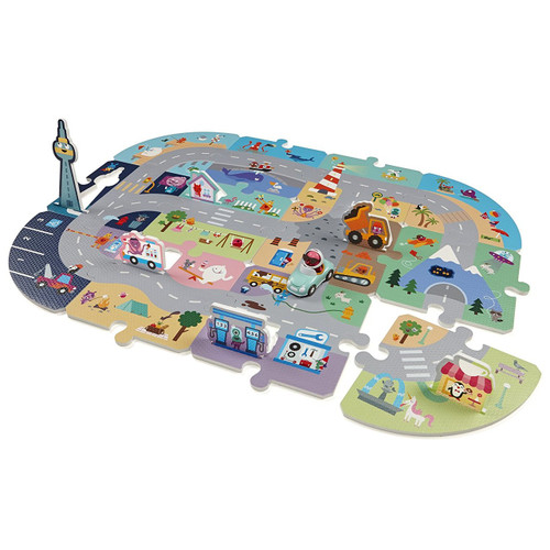Sago Mini - Puzzle Mats: Robin's Roadtrip