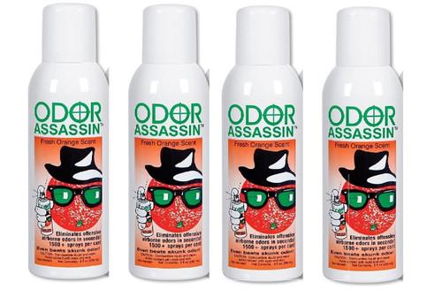 Odor Assassin Orange, Set of 4