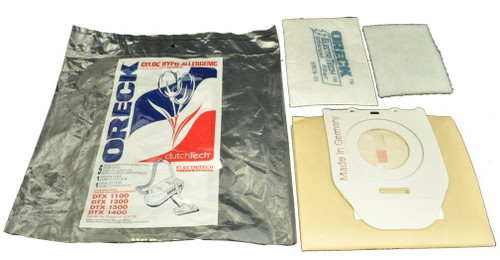 Oreck Canister Vacuum Cleaner Bags DTX1100, 1200, 1300, 1400