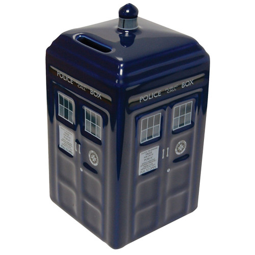 Underground Toys Doctor Who Ceramic TARDIS Bank