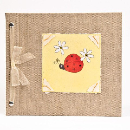 Hugs and Kisses XO Baby Memory Book: LADYBUG Girl Baby Album from Birth to 5 Years