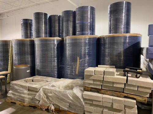 "Carpet bonded foam (84' x 6'6.75"" x 2.165"")"