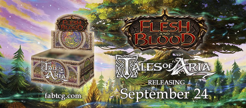 Flesh and Blood Tales of Aria Reveal