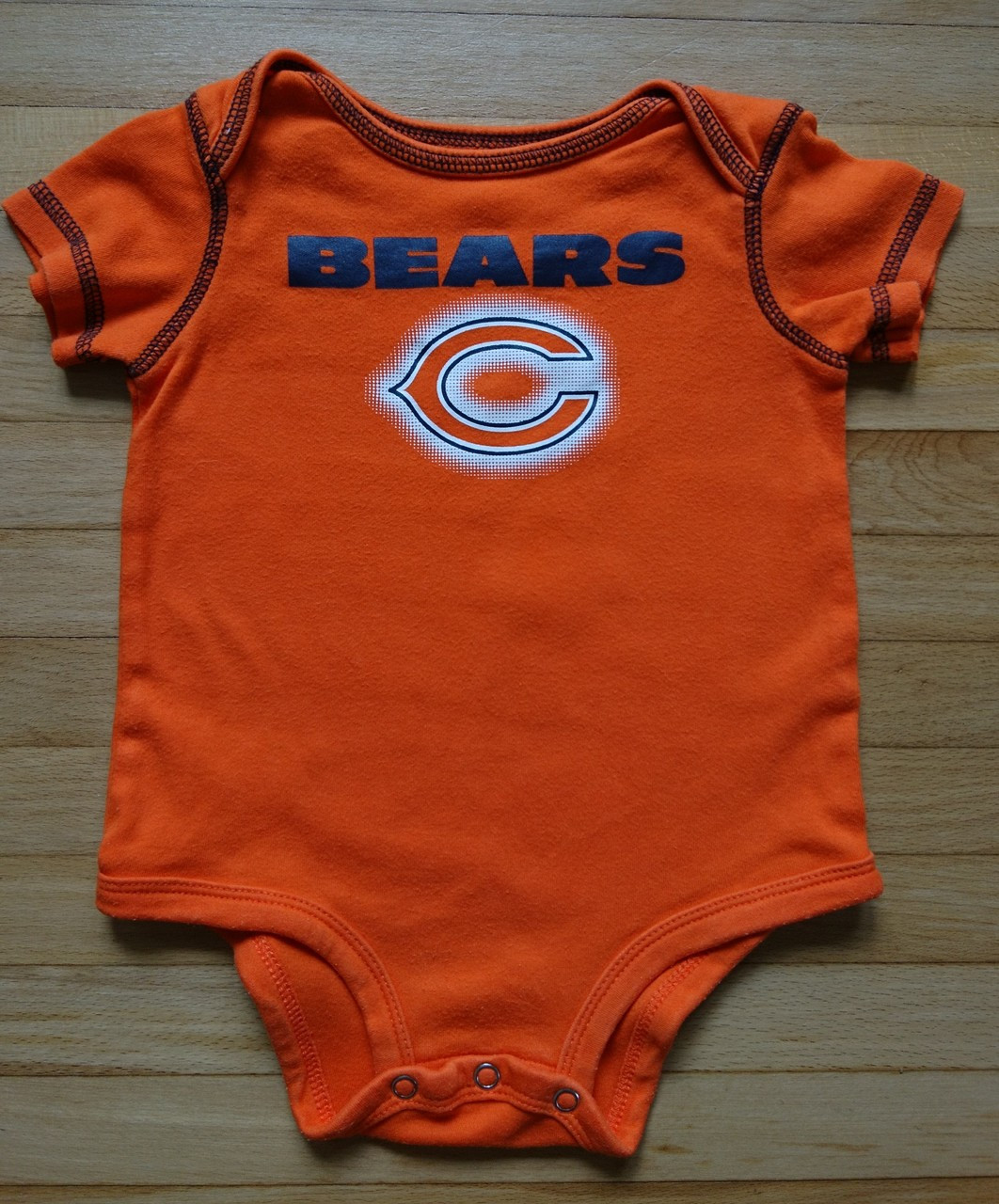 5e653265 Baby Clothes - Chicago Bears - NFL Team Apparel - One Piece Outfit - 3-6  Month - Pre-Owned - Treasure Website