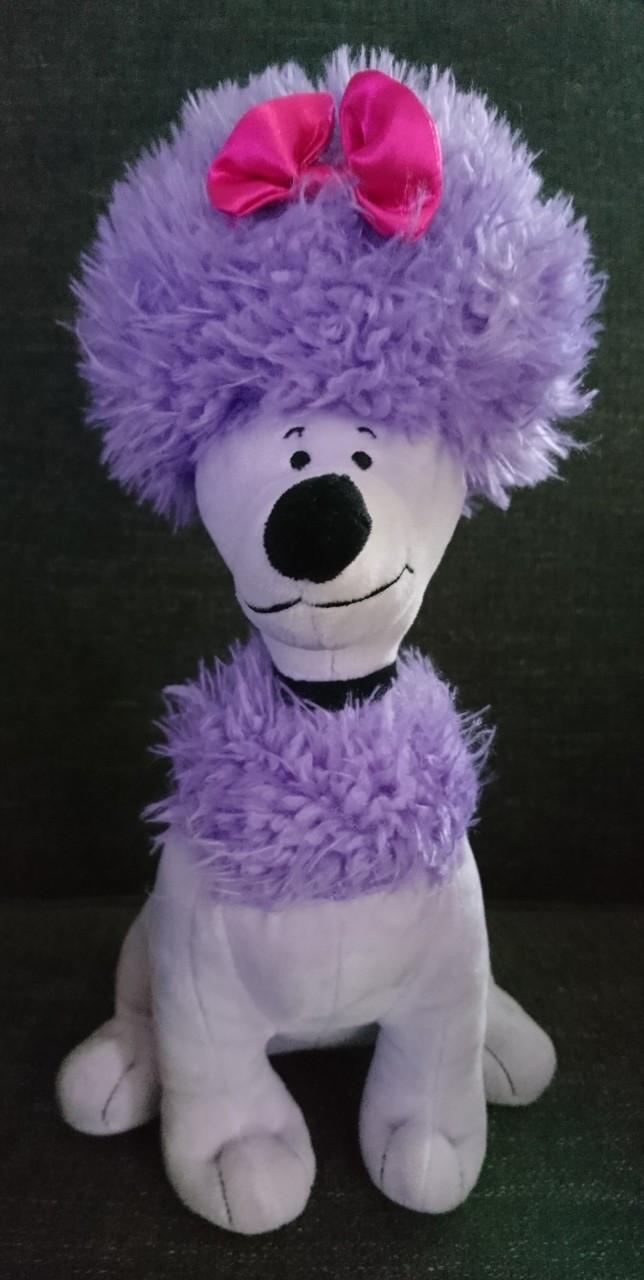 1375503fdf8f8 Dog - Stuffed Animal - Cleo - Purple Poodle - 12