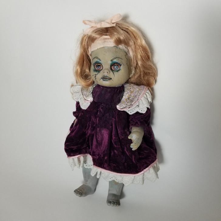 "Creepy Horror Art Doll OOAK Halloween Prop Home Decor 15"""
