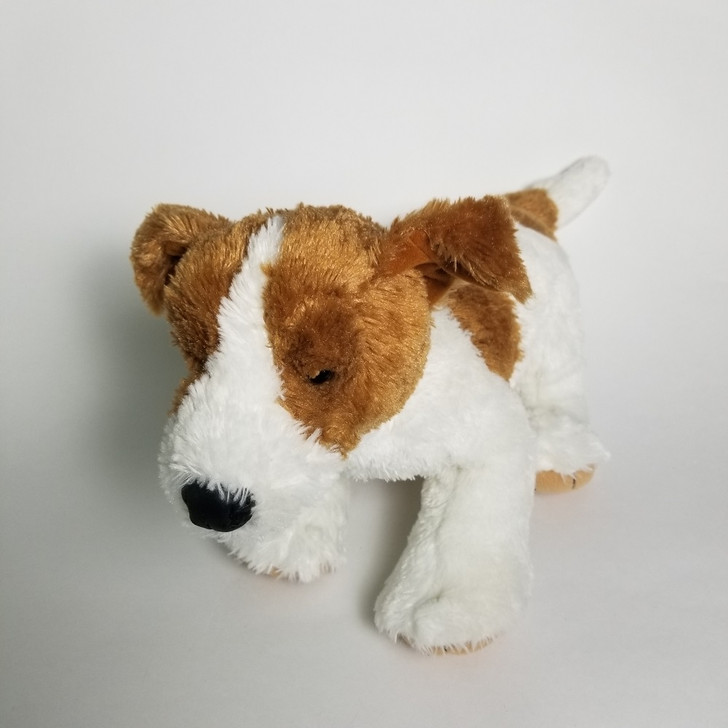 """Build A Bear Dog Terrier Brown and White 2010 15"""""""