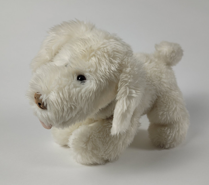 """White Dog Plush - Gund for Target - 11"""" L"""