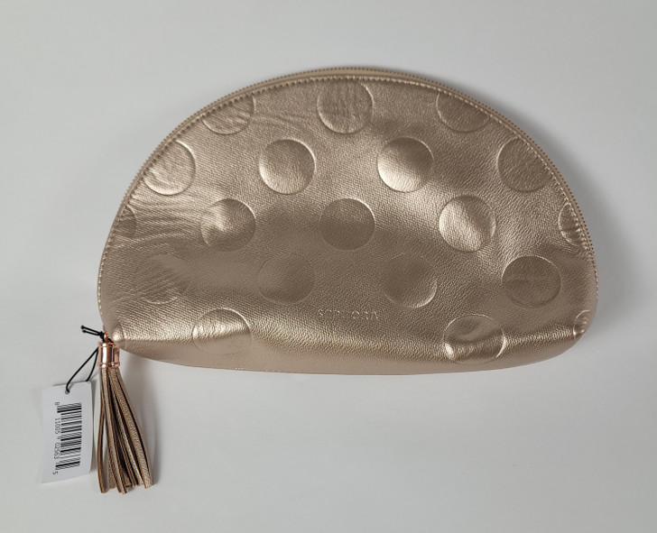 Sephora Clutch Cosmetic Bag Rose Gold - Nice!