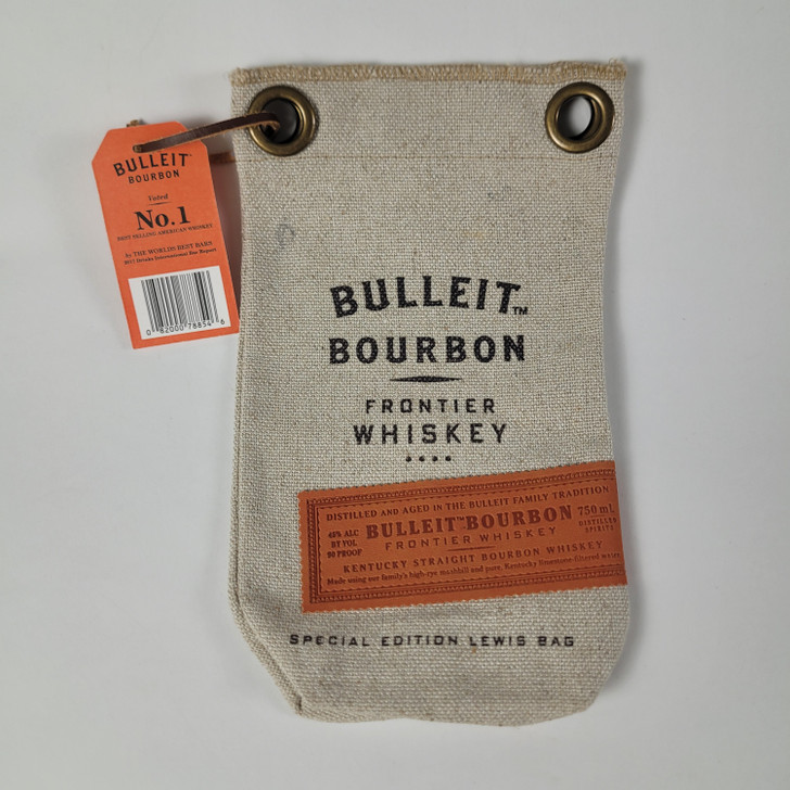 Bulleit Bourbon Frontier Whiskey Bag - Special Edition Lewis Bag with Tag