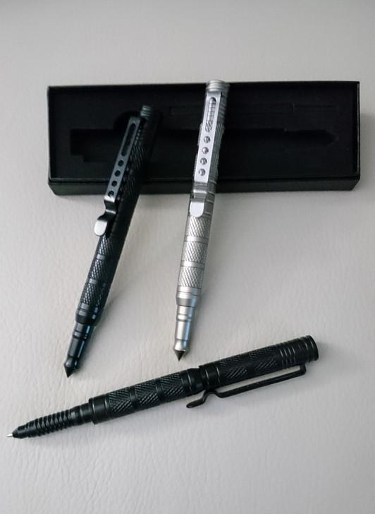 Tactical Pen - Dual Purpose Blue Ink Pen and Self-Defense Tool