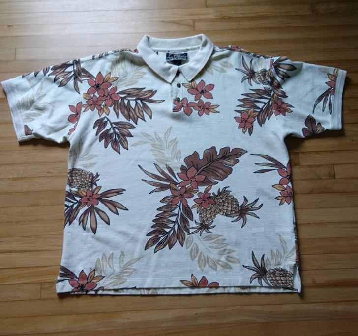 8fb6dbdd Men's Polo-Style Hawaiian Shirt - La Cabana - Size: Large - Pre-Owned -  Treasure Website