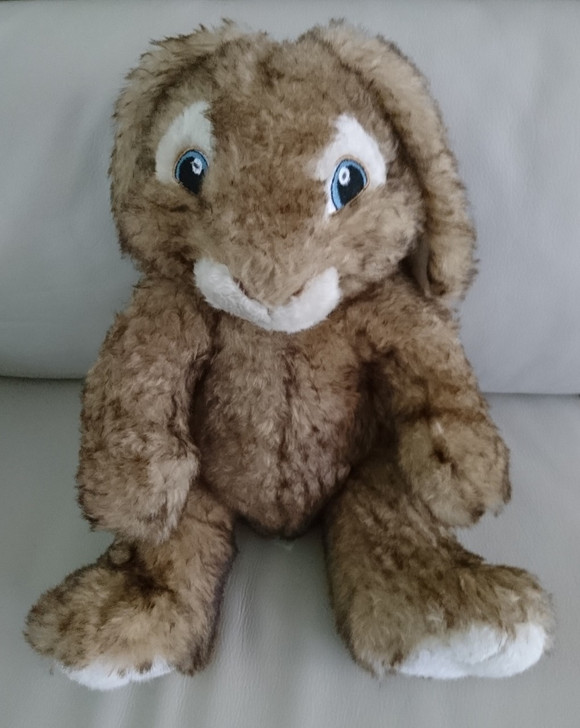 """Build A Bear - Rabbit - HOP the Rabbit - From the Movie - 14"""" - Pre-Owned"""