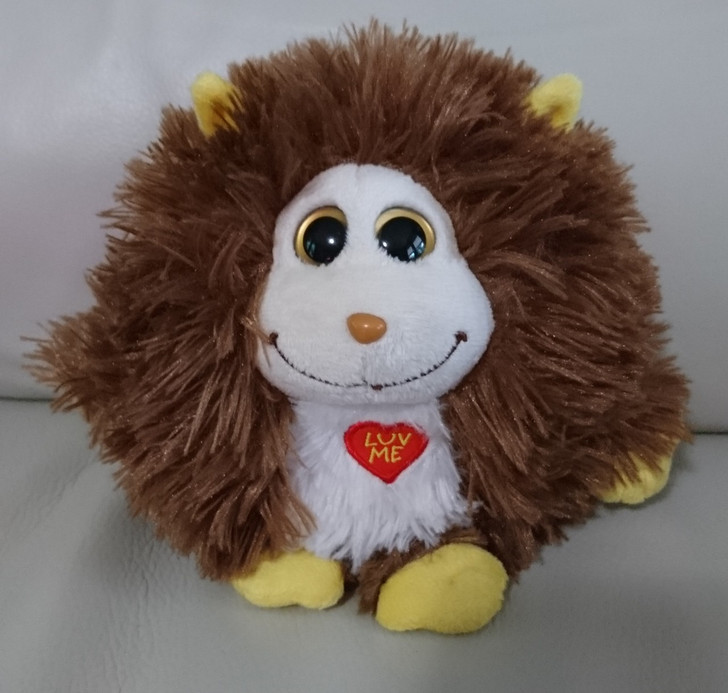 """TY - Monstaz - """"Rocko"""" - Monster Plush Ball - Stuffed Animal - Pre-Owned"""