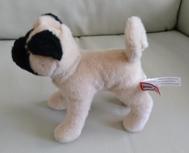 Realistic Pug Stuffed Animal, Pug Dog Stuffed Animal Douglas Cuddle Realistic Look Plush Tan Black 8 Pre Owned Treasure Website