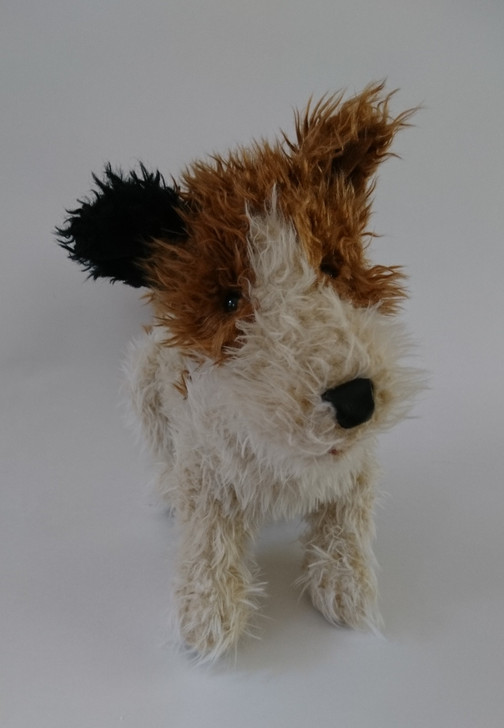 "Folkmanis Puppet Jack Russell Terrier Dog Full Body - Plush Stuffed Animal - 14"" - Pre-Owned"