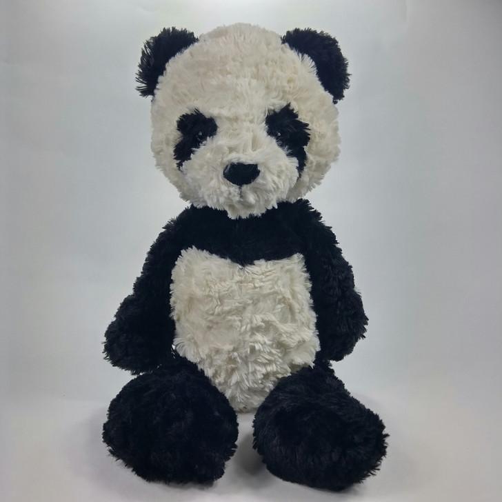 "Jellycat London Panda Bear Plush Stuffed Animal - Floppy Furry - 14"""