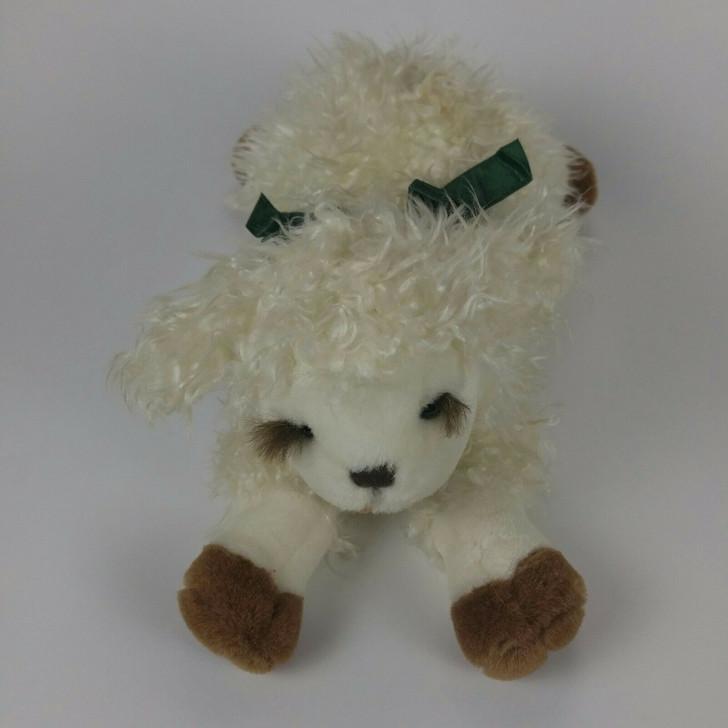 Dakin Lamb Plush Animal 10″