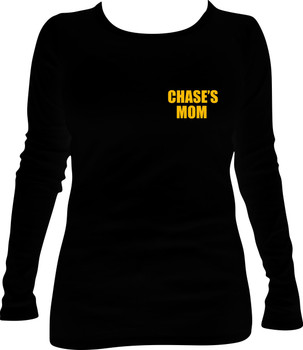 Ladies' Long-Sleeve  T-Shirt/I'm a Singlet Findin' Mom