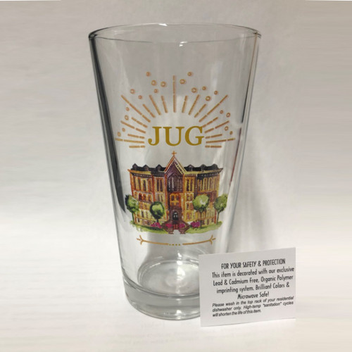 "Anniversary ""JUG"" Pint Glass"
