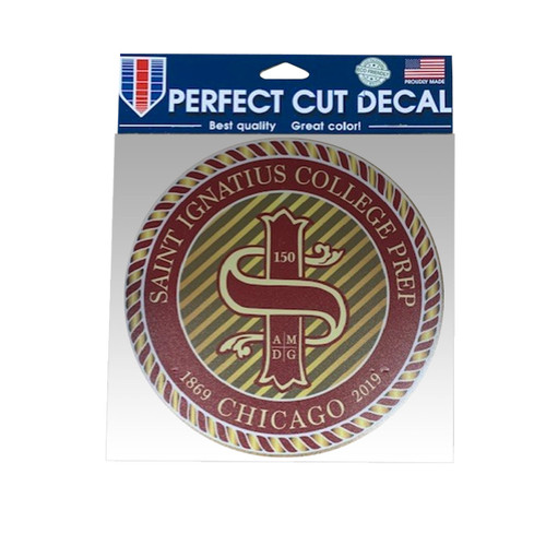 "8"" Perfect Cut Anniversary Decal"
