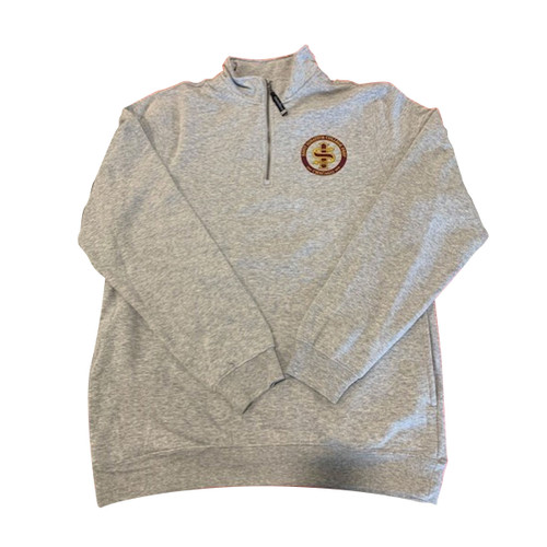 Charles River 1/4 Zip Pullover with Anniversary Logo